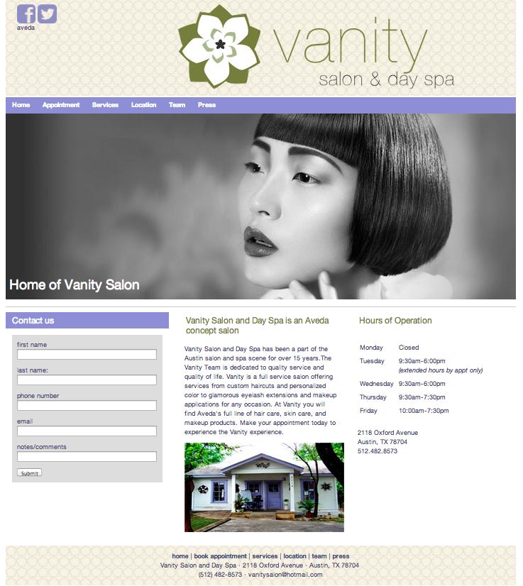 Charming Homepage