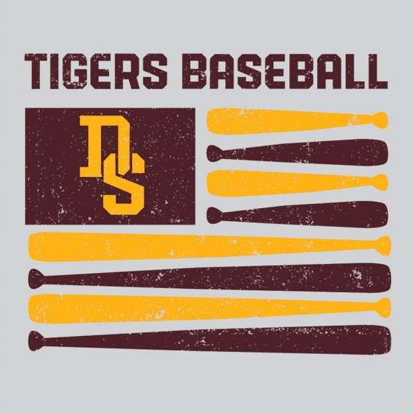 T-Shirt Baseball Flag